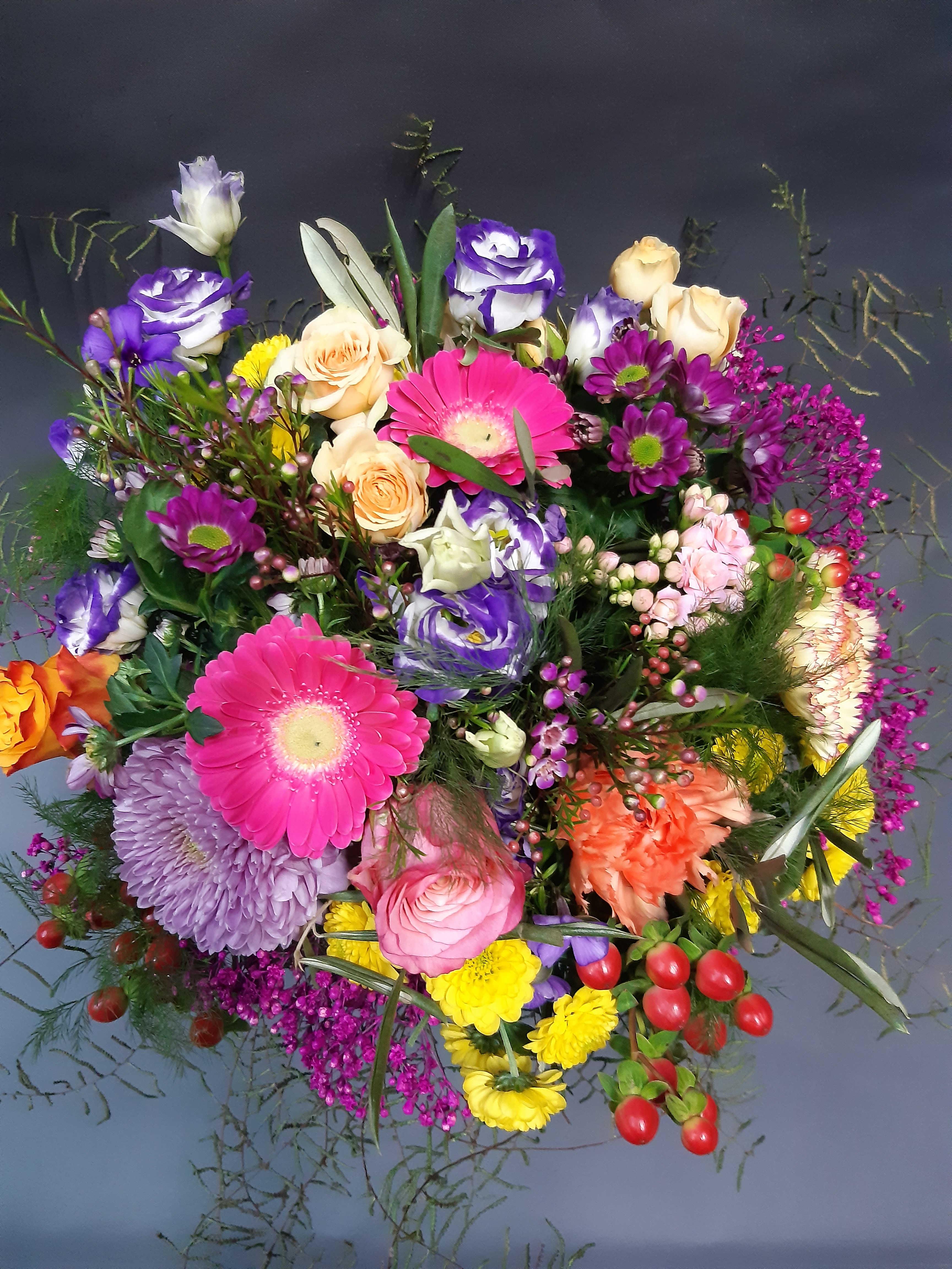 Bunter Strauß - Saisonblumen